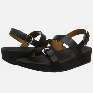 FITFLOP EDIT LEATHER SANDALS 10M